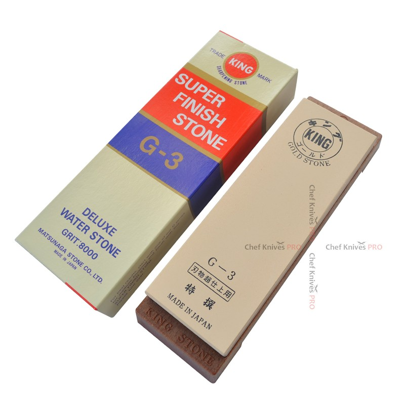 King Gold Finish Sharpening Stone Grit #8000