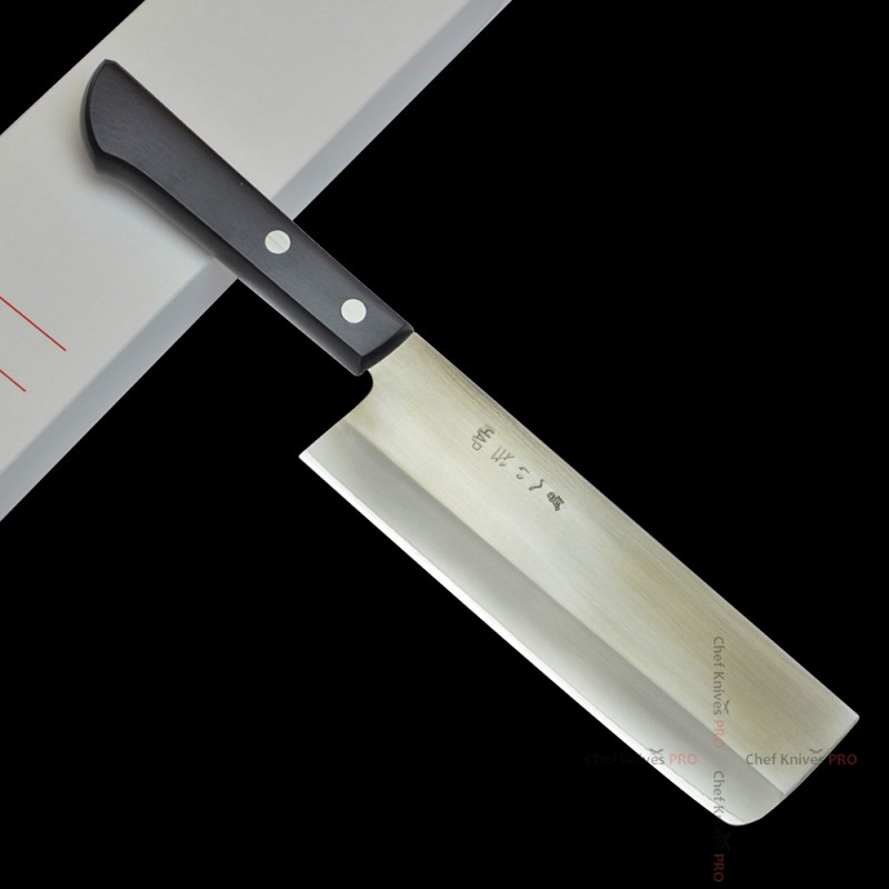 Gihei HAP40 Hand Forged Nakiri 165mm knife