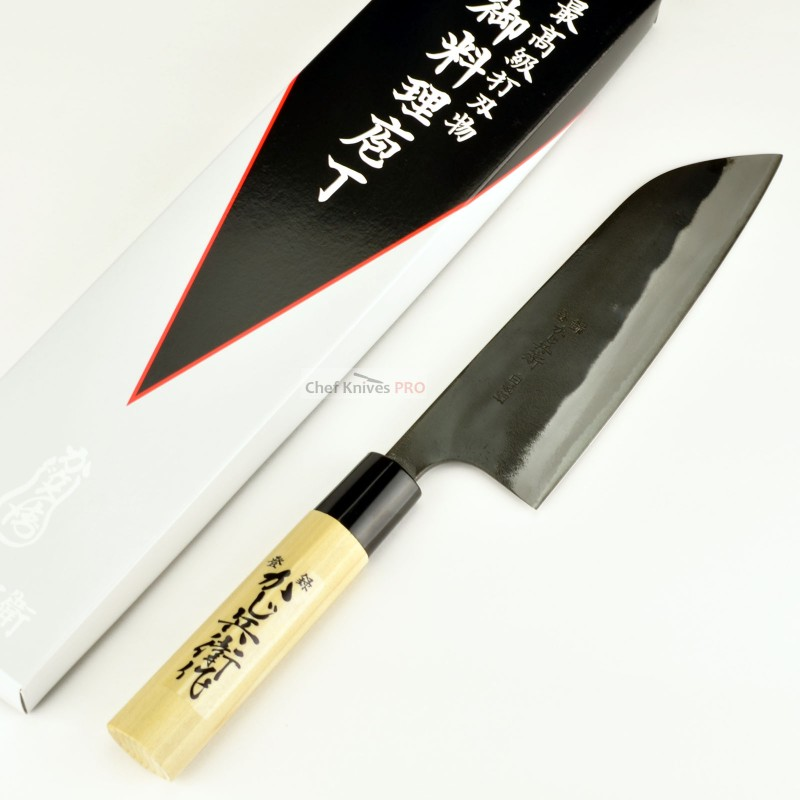 Kajibee  White#2 Santoku Knife 165mm Made in Japan
