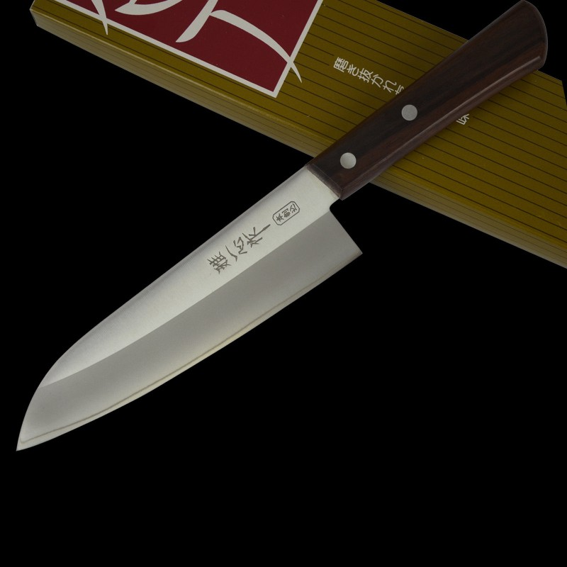 Miyabii 8A Steel Santoku Knife 170mm